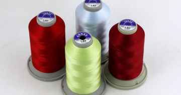 zdjęcie Threads for machine embroidery